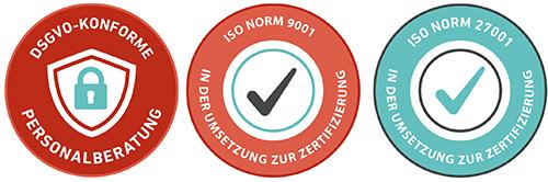 DSGVO / ISO Logos LAB Company